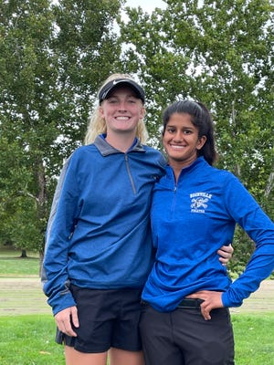 Boonville golfers Zoey Lang and Hannah LeGrant qualified for the state tournament Monday and Tuesday in Columbia after finishing in the top 16 during the Class 2 District 2 Tournament last week at Heritage Hills Golf Course in Moberly.
