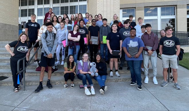 Brownwood High School choir members auditioned for the All-Region Choir.