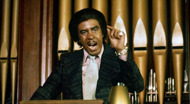 """Richard Pryor in the 1977 Michael Schultz film """"Which Way is Up?"""""""