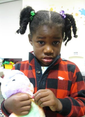Franklin County Children Services said a girl was reunited with her family Thursday afternoon after being found wandering alone on Wednesday evening.