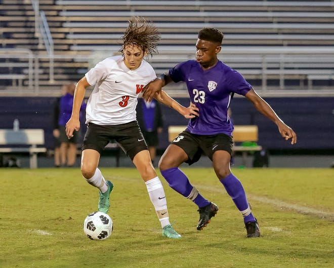 Elhadji Mbow (23) has been a top contributor for Central, which overcame a slow start to capture its second consecutive OCC-Buckeye Division title. The Tigers outscored their five league opponents 24-1.