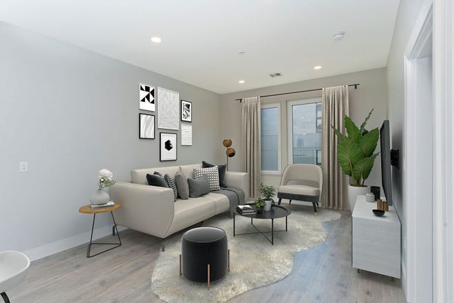 The desirable open floor plan creates a nice area for conversing and entertaining. Two European-style oversized windows in the living room let in an abundance of light. They are perfect to open on a nice day. Or when it is too hot, just turn on the home's central air conditioning.