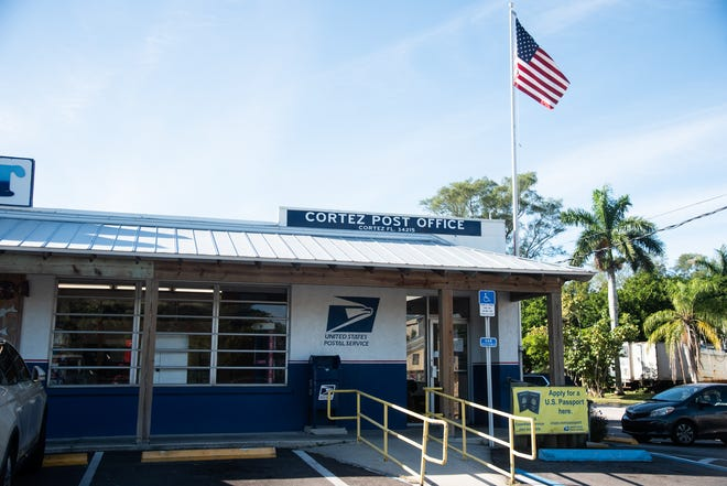 The Cortez post office is closing Oct. 24 in Manatee County.