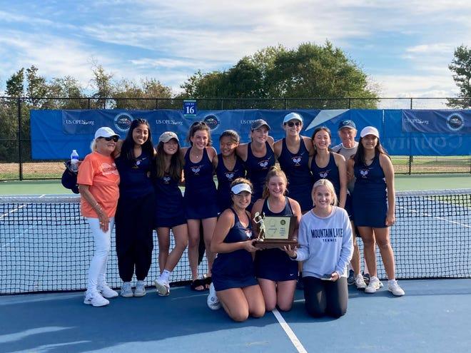 Mountain Lakes defeated Kinnelon to earn the NJSIAA Group 1 tennis title.