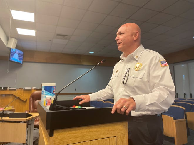 Naples City Council voted unanimously on Oct. 14 to select Fire Chief Pete DiMaria as interim city manager effective Nov. 6, 2021.