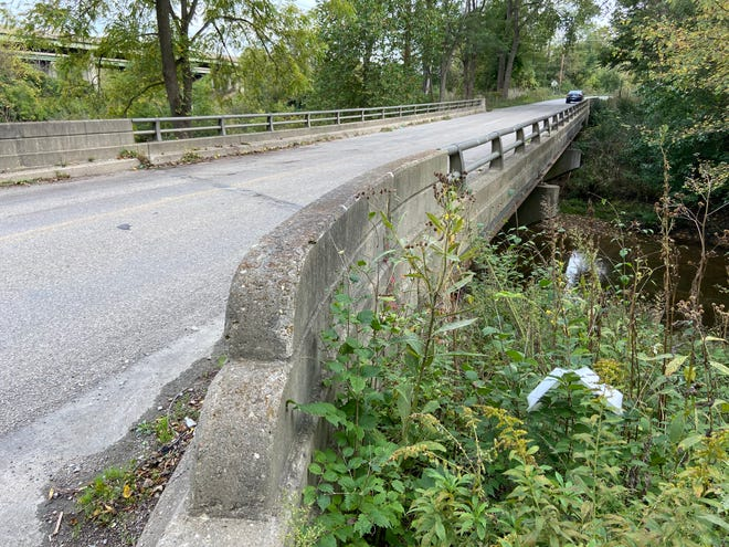 The Gravel Pit Road bridge is one of three bridge projects for which the Wayne County commissioners have approved funding for engineering and design work.