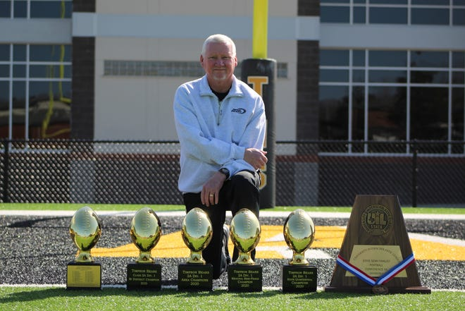Kerry Therwhanger, a native of Haskell, has found success as a head football coach in East Texas. His Timpson team is 6-0 and ranked No. 3 in the state in Class 2A Division I.