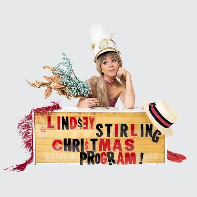Lindsey Striling is bring her Christmas Program to Shreveport Nov. 27.