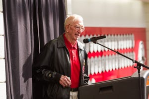 """Kent """"Red"""" Dover, a former football star and hall of famer at Southern Utah University, died on Tuesday, the university announced."""