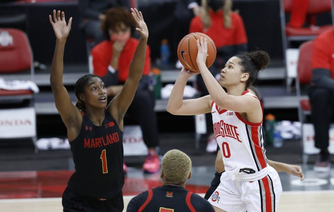Madison Greene's absence at the end of last season proved too much for the Ohio State women's basketball team to overcome, but the point guard is healthy heading into 2021-22.