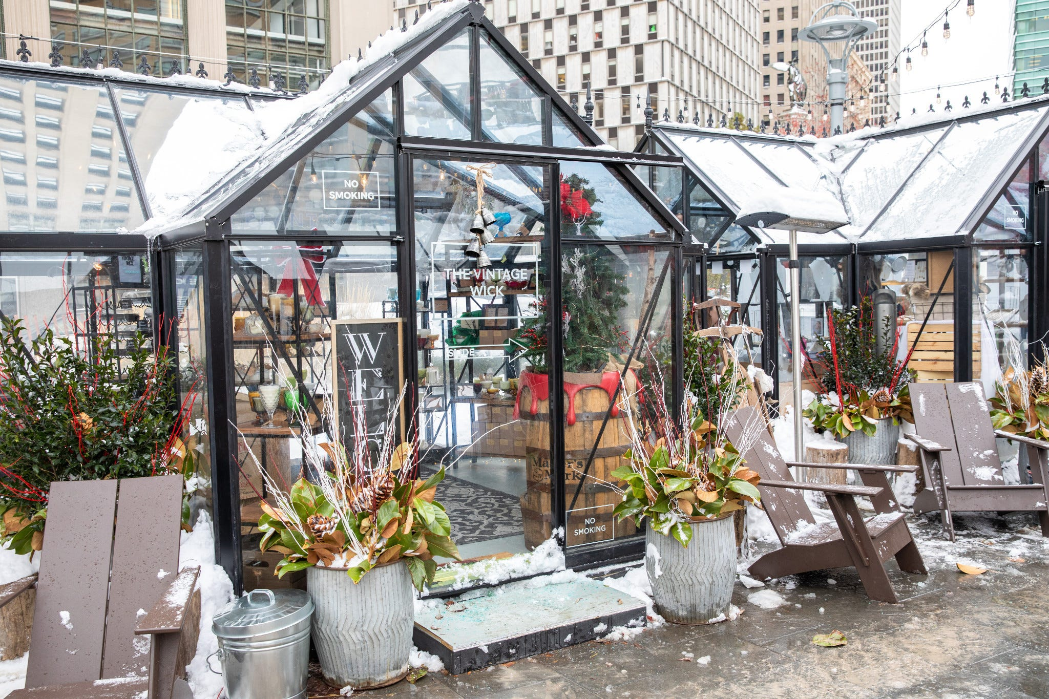 Winter shopping, holiday activities ready for season change in downtown Detroit