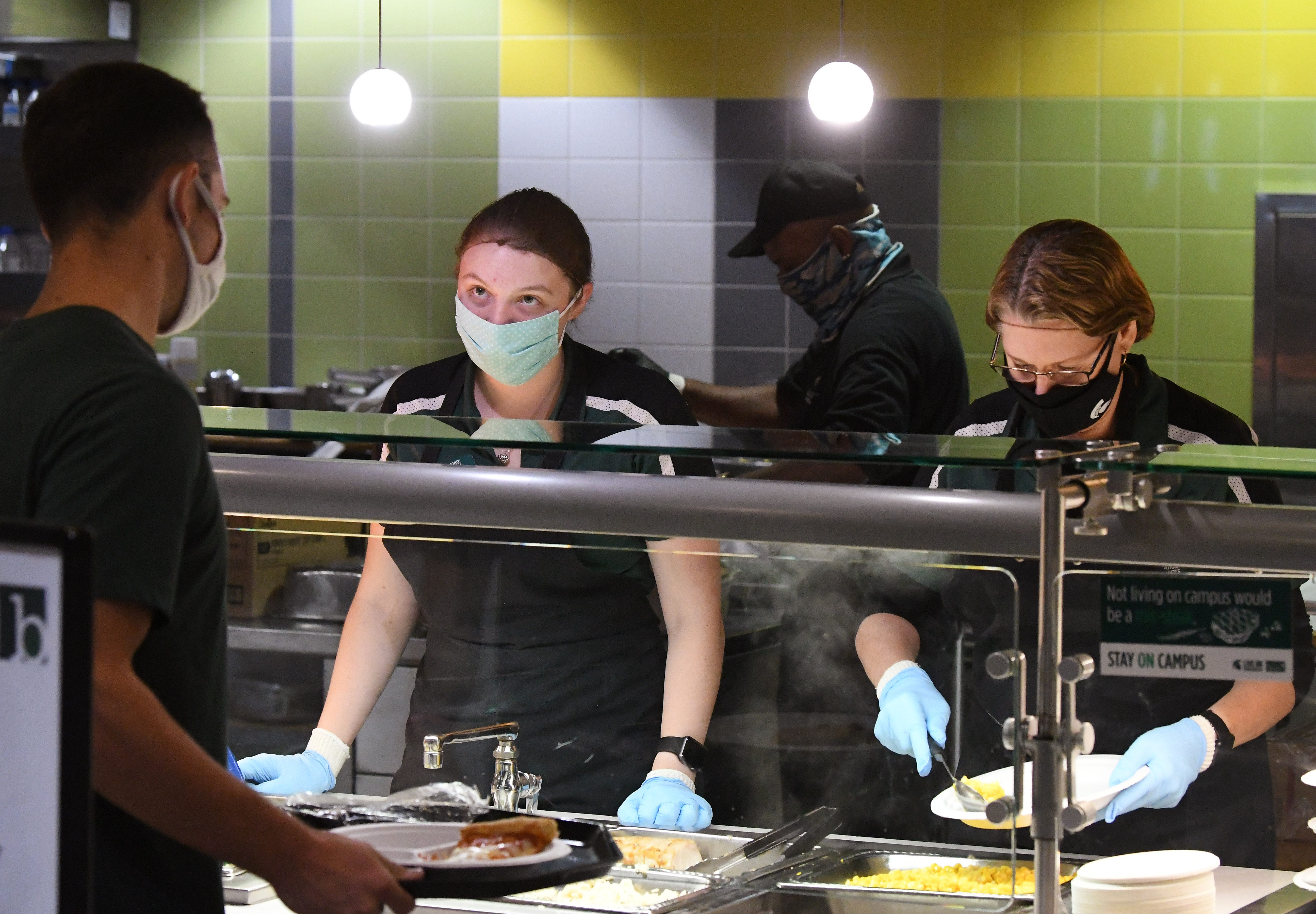 MSU asking faculty to volunteer in dining halls amid staffing shortage