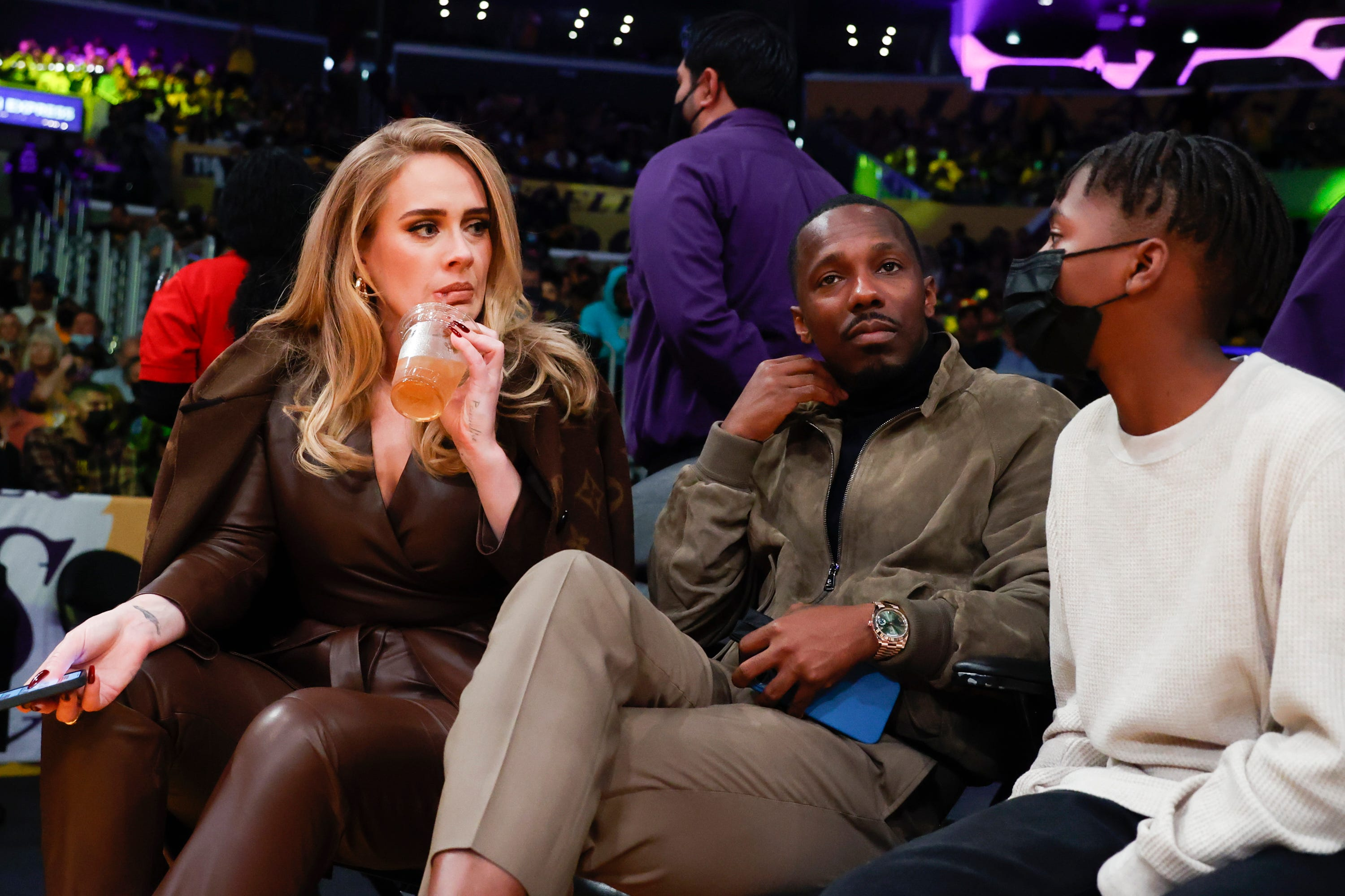 Adele, boyfriend Rich Paul cozy up courtside at Lakers game: See their relationship timeline