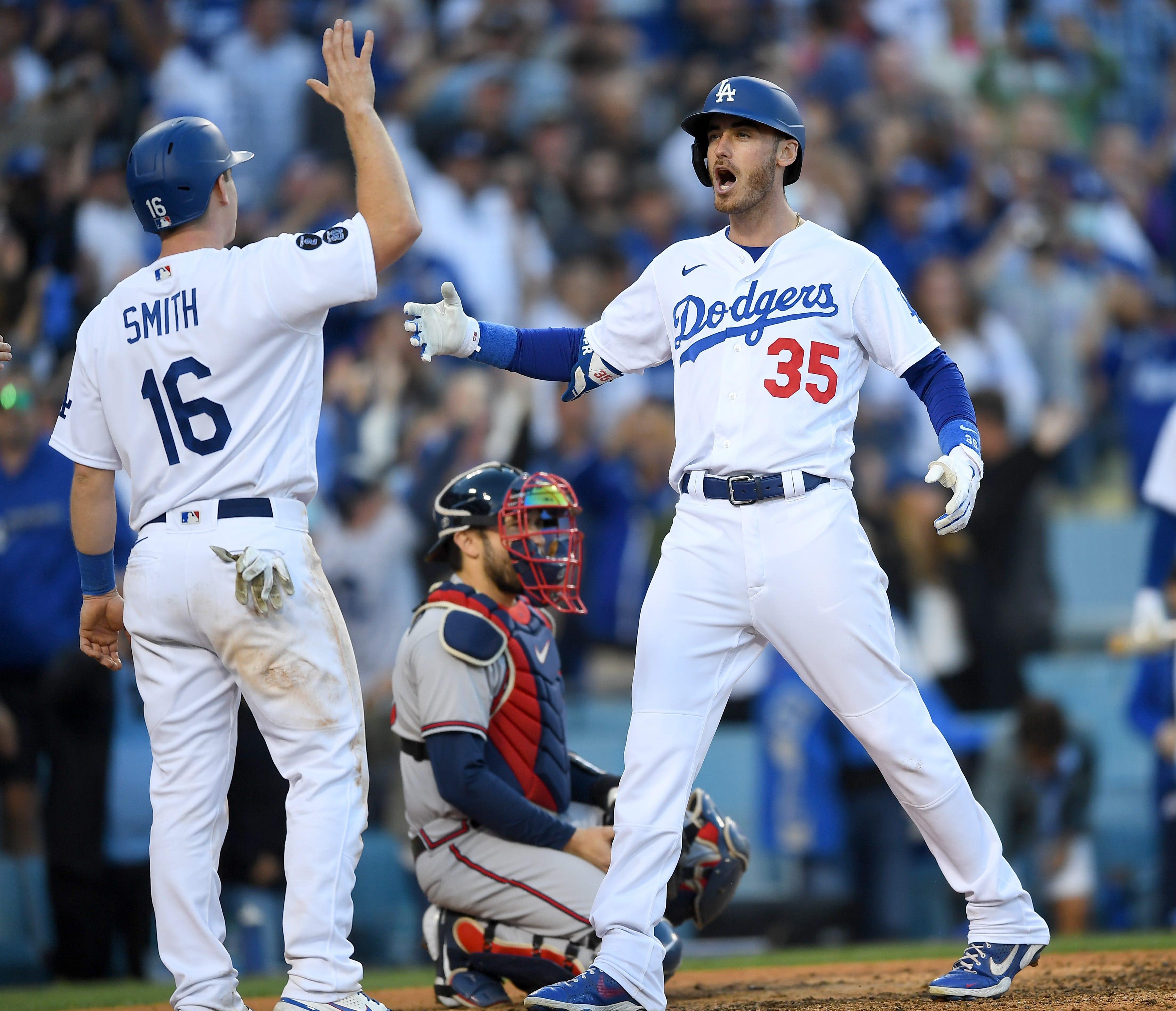 Cody Bellinger s three-run homer brings Dodgers back from brink in 6-5 NLCS Game 3 win vs. Atlanta