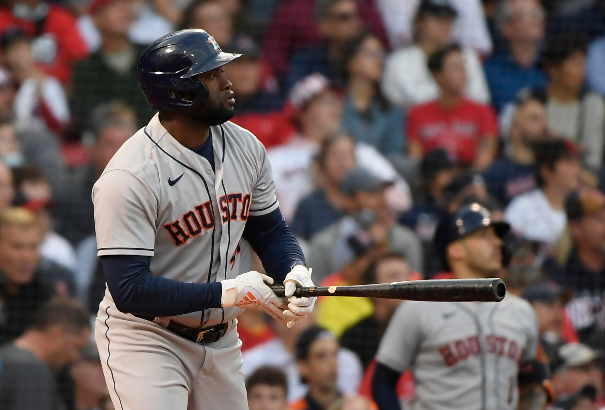 Astros silence Red Sox in Game 5 of ALCS, one win from punching World Series ticket