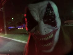 Sammy's Express Tunnel of Terror Haunted Car Wash in Maple Shade  offers Halloween fun.