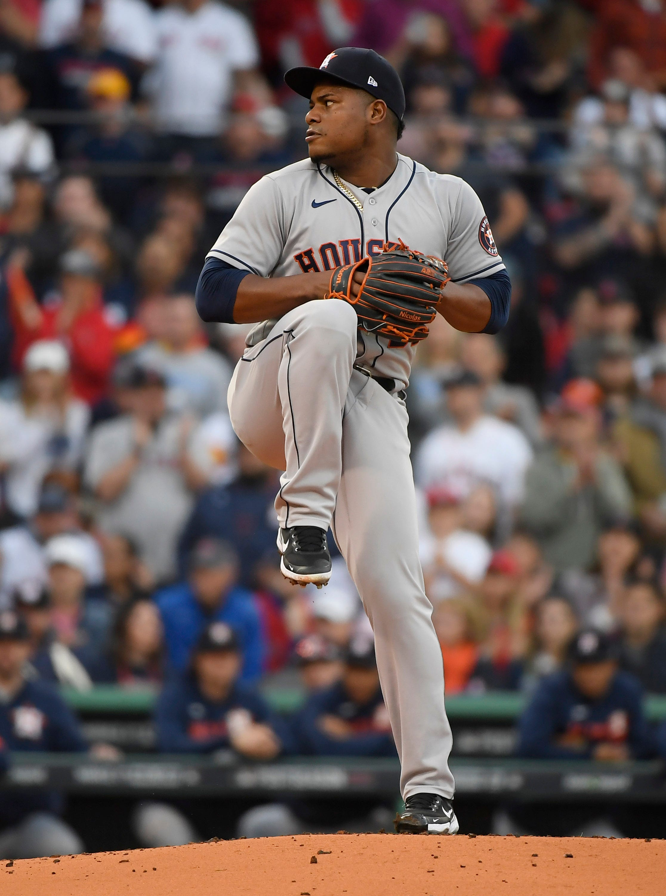 Just breathe: Astros lefty Framber Valdez takes his own advice to pitch game of life in ALCS Game 5