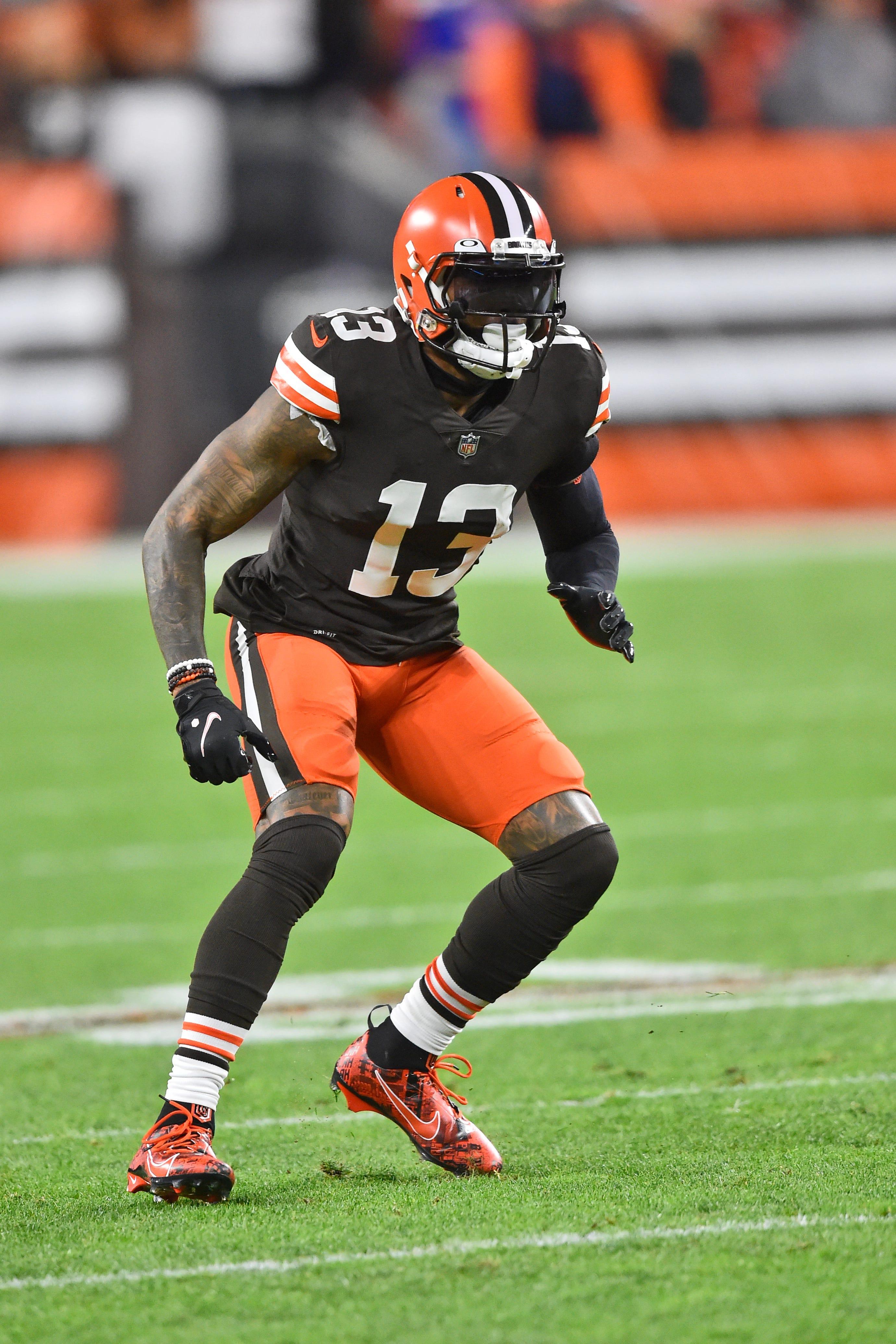 Browns notes: Odell Beckham Jr. should be able to face Steelers despite shoulder sprain