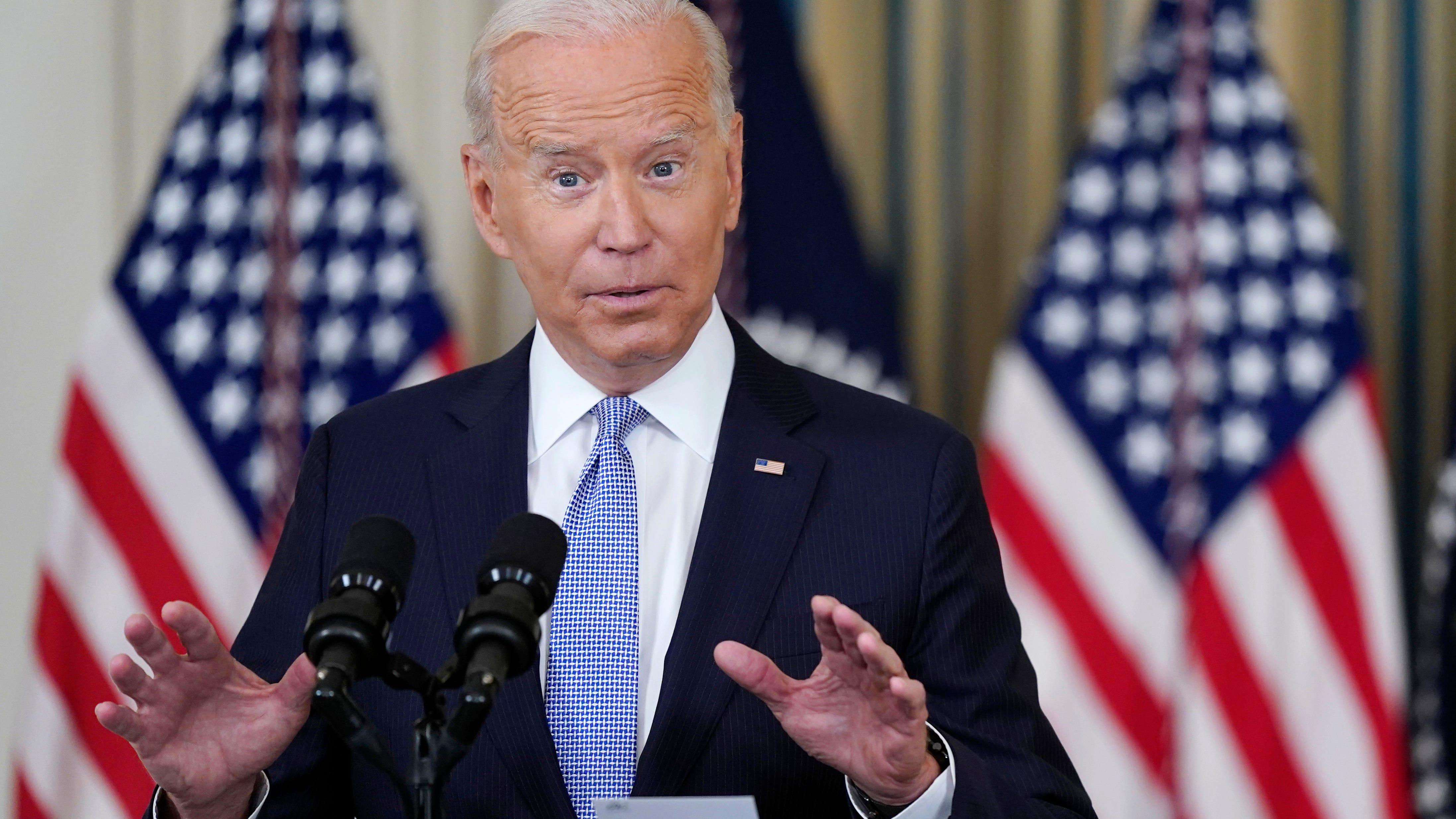 President Joe Biden will visit New Jersey on Monday
