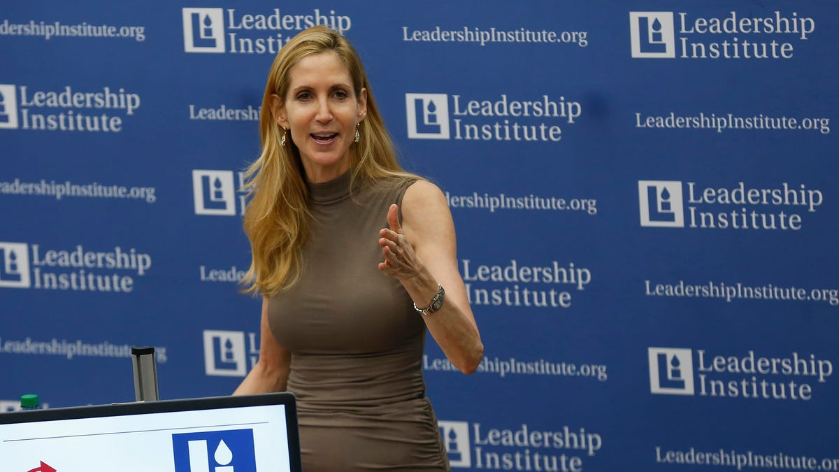 Conservative pundit Ann Coulter speaks at Missouri State, says women shouldn't have the right to vote