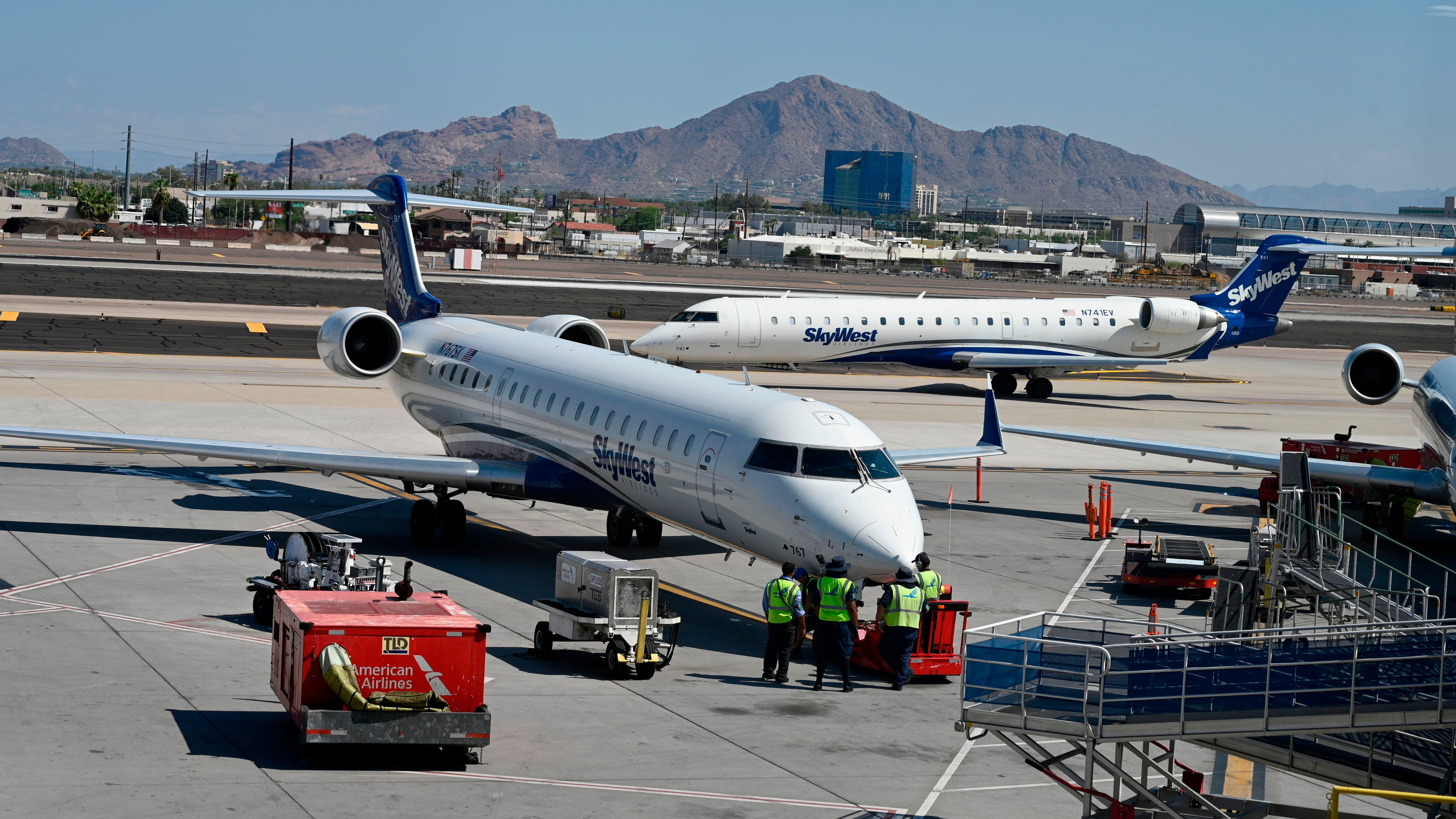 SkyWest Airlines cancellations ripple across multiple major airlines
