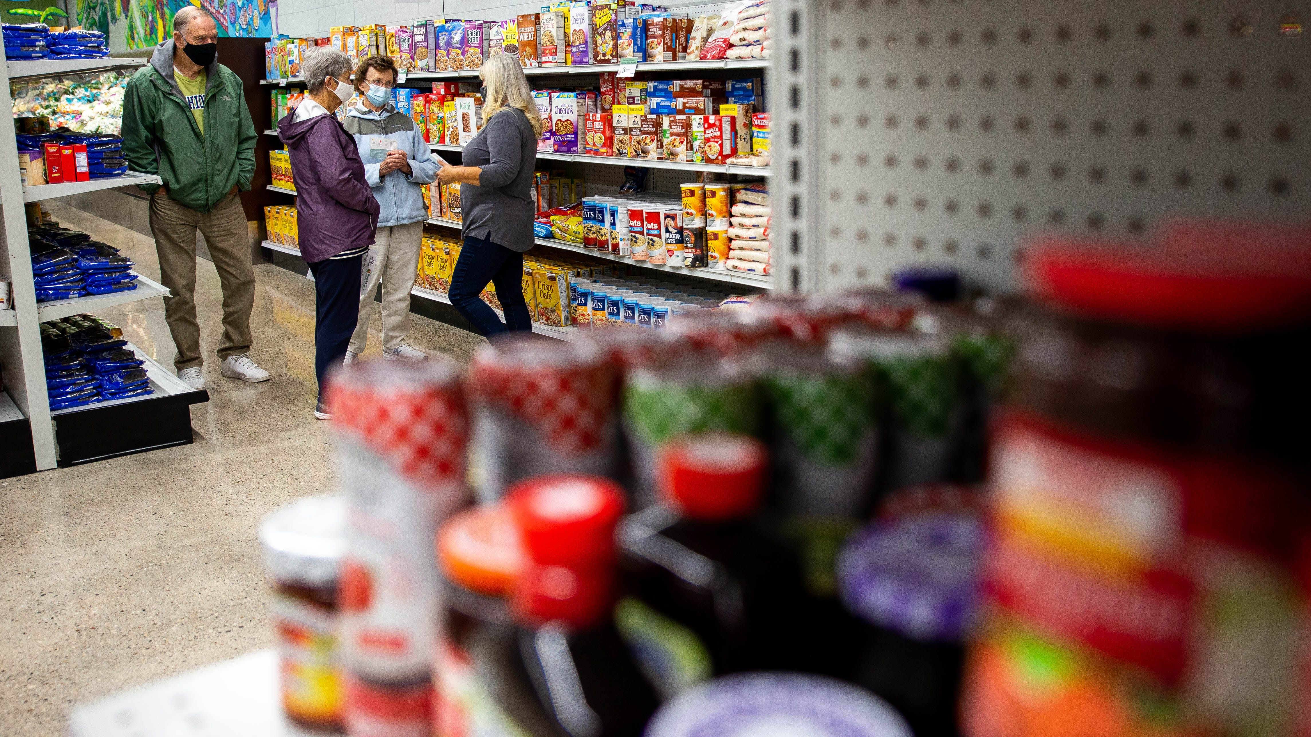 Community Action House opens grocery-store-like Food Club