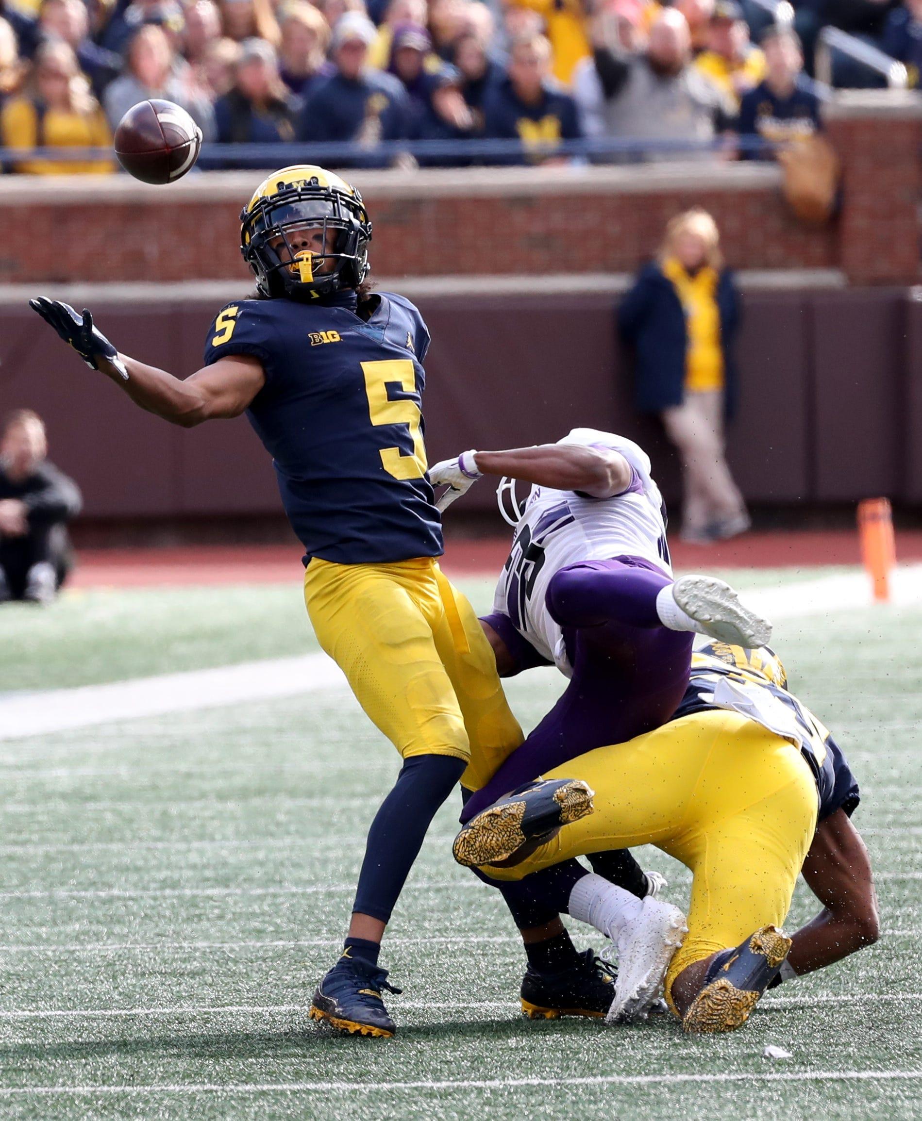 Michigan football run game still stars but deep pass game, top freshman lag