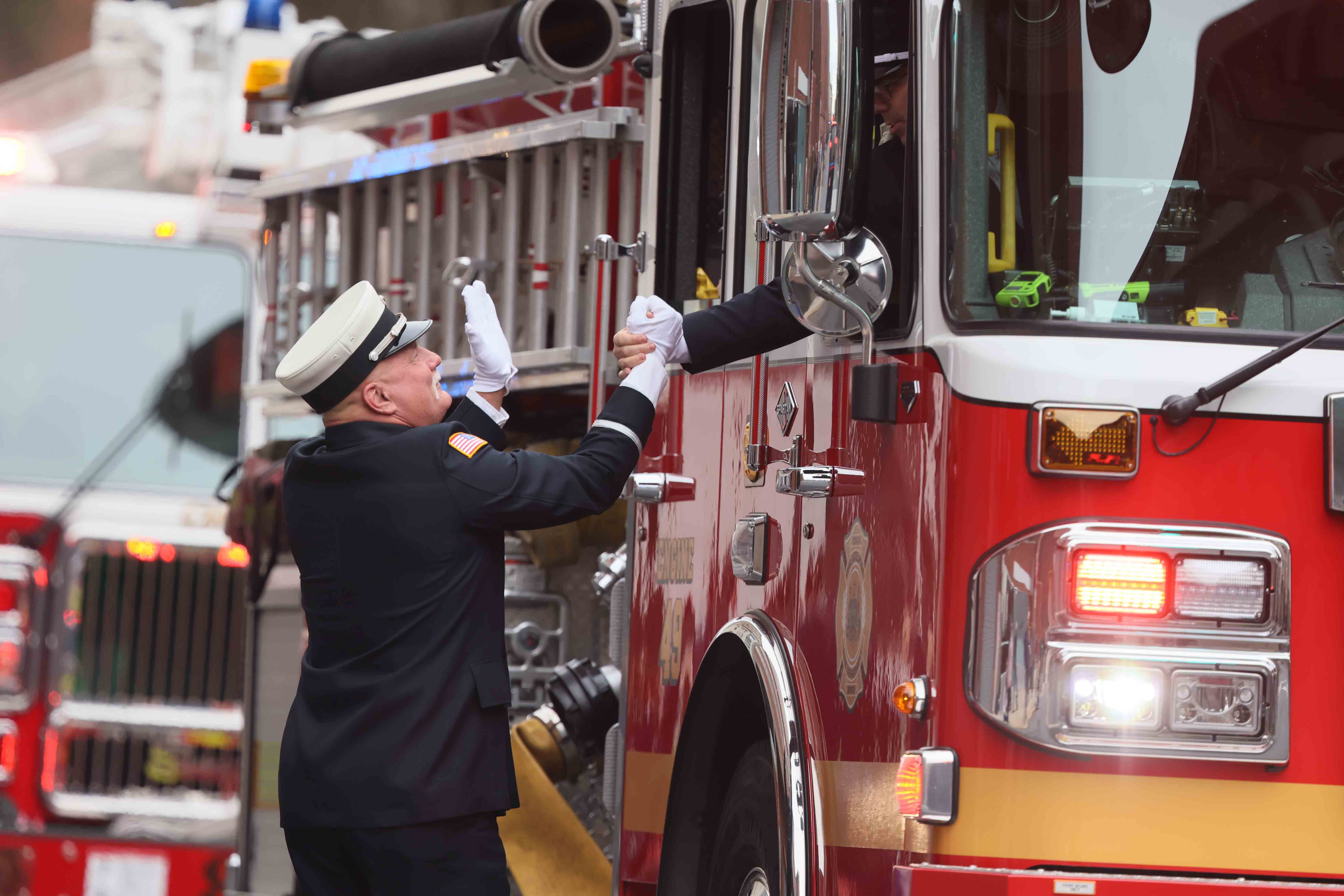 Wilmington celebrates 100th anniversary of Fire Department with citywide parade
