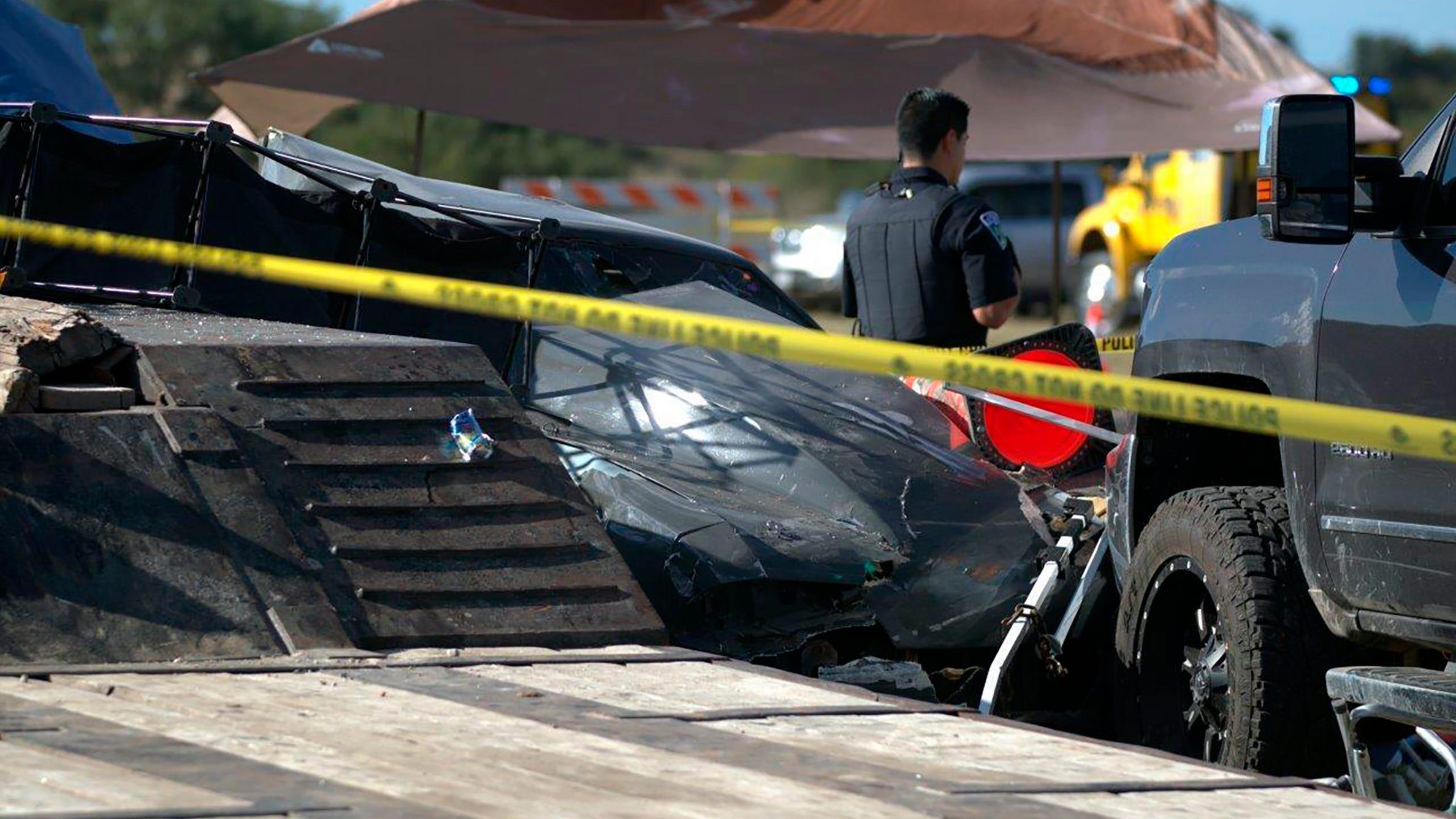 Texas drag race driver slams into spectators, killing 2 boys
