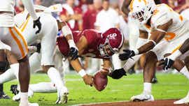 What Heupel said about Alabama's fumble-turned-touchdown