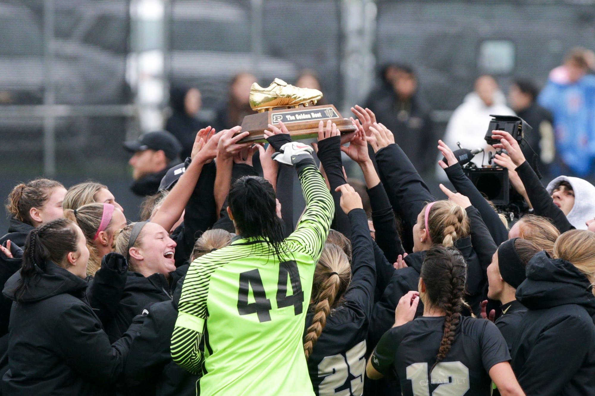 Purdue soccer blanks IU, 2-0, wins The Golden Boot