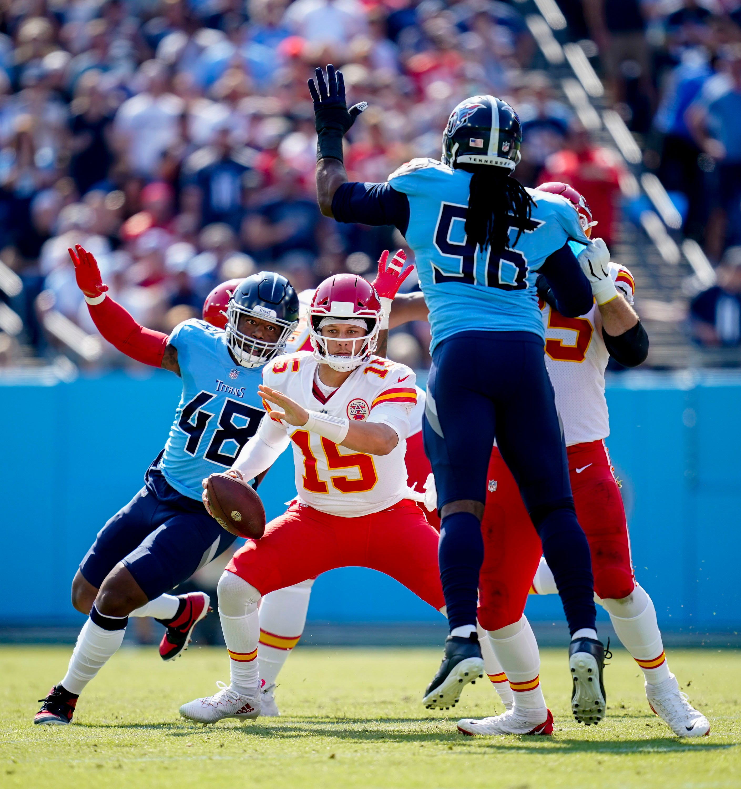Tennessee Titans' biggest weakness is becoming a strength. Ask Patrick Mahomes   Estes