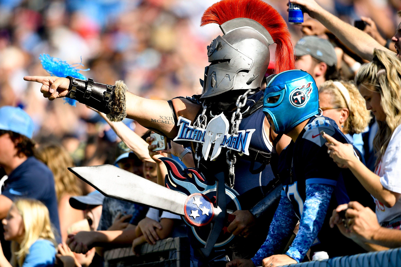 Titans defeat Chiefs at Nissan Stadium