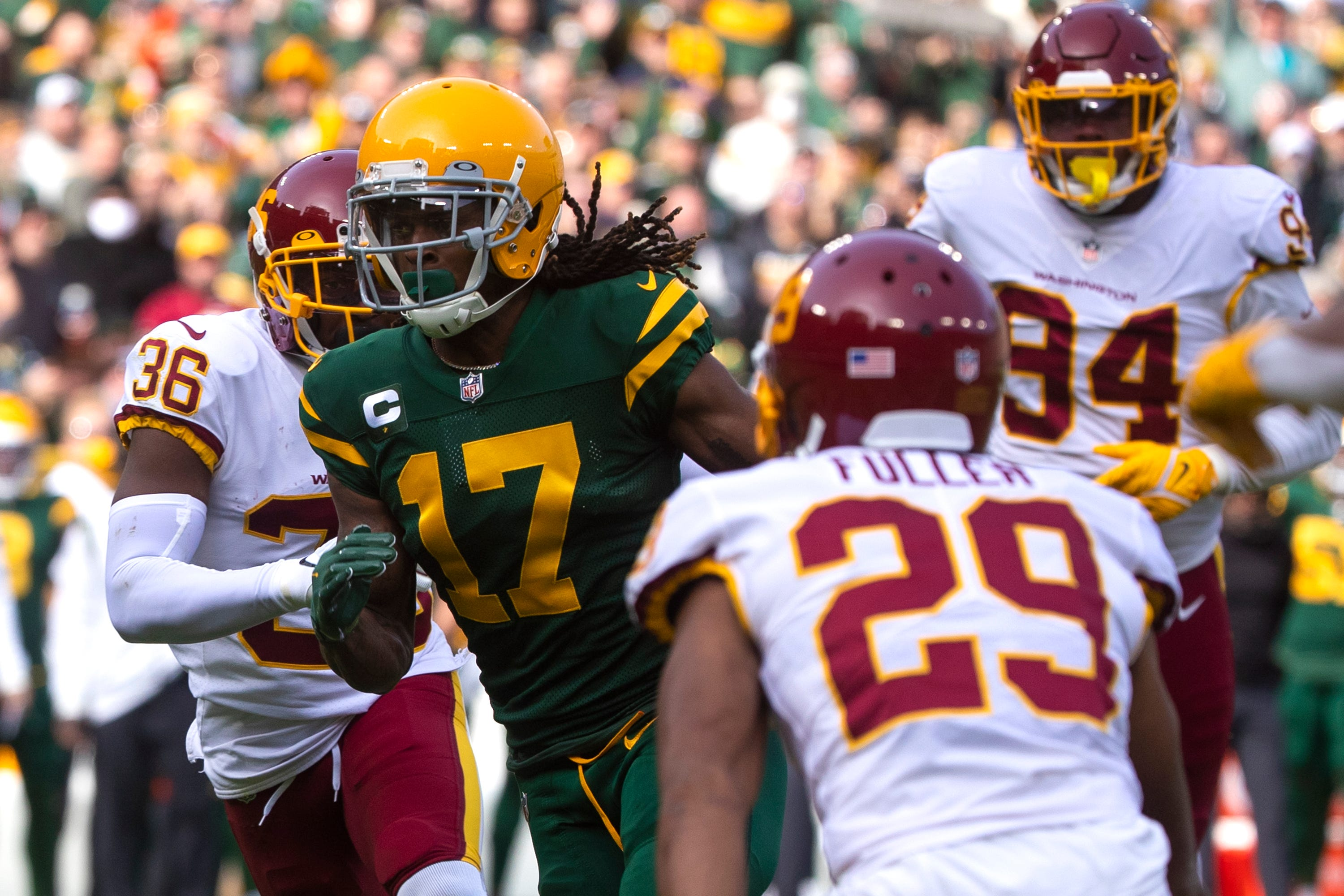 Green Bay Packers-Washington Football Team live game blog with Tom Silverstein