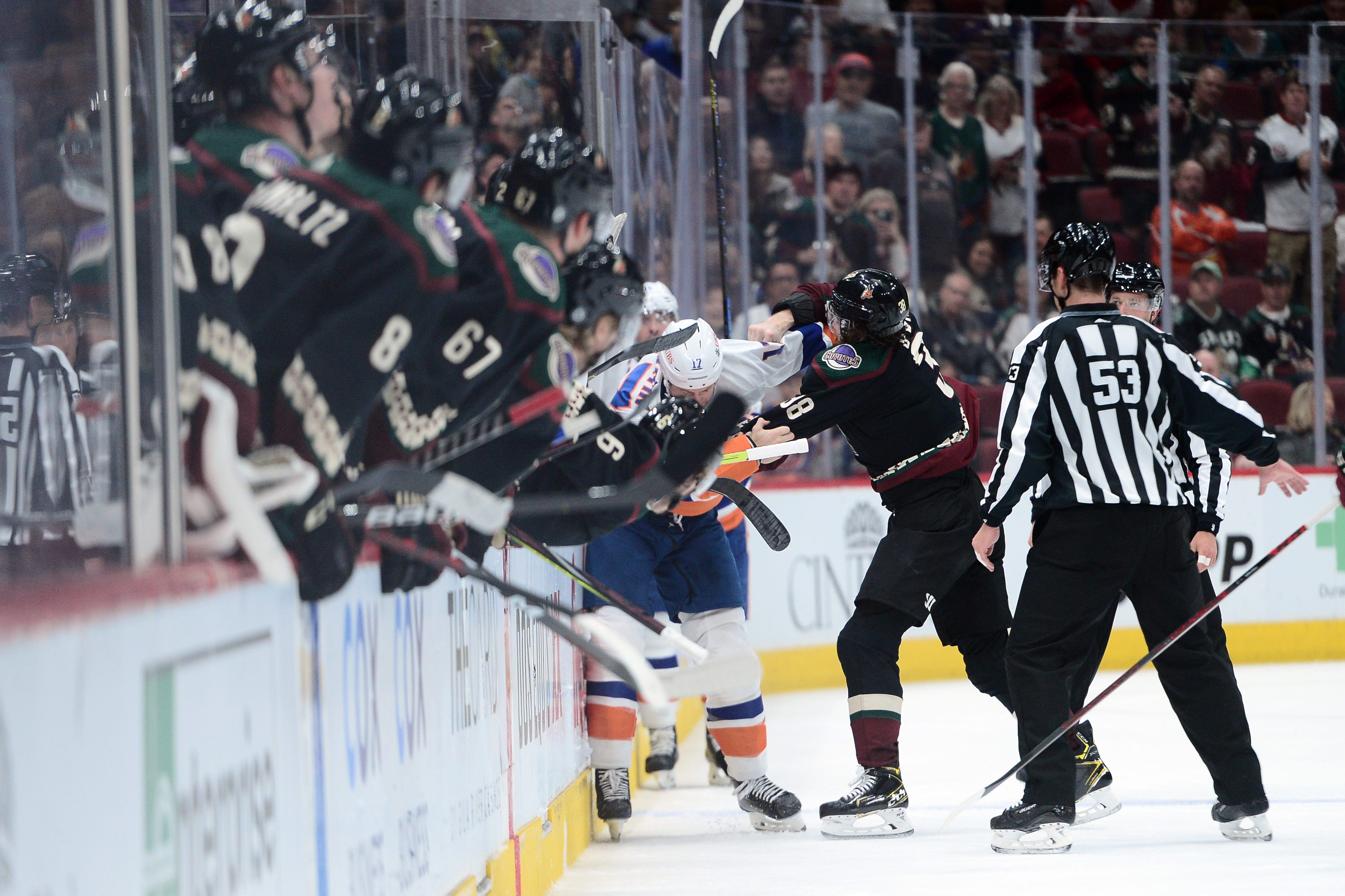 Coyotes shut out for first time this season in loss to New York Islanders