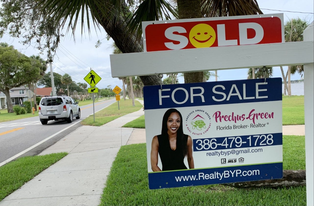 news-journalonline.com - Clayton Park, Daytona Beach News-Journal Online - Housing market heat check: Realtors now outnumber homes for sale 3-to-1 in Daytona Beach