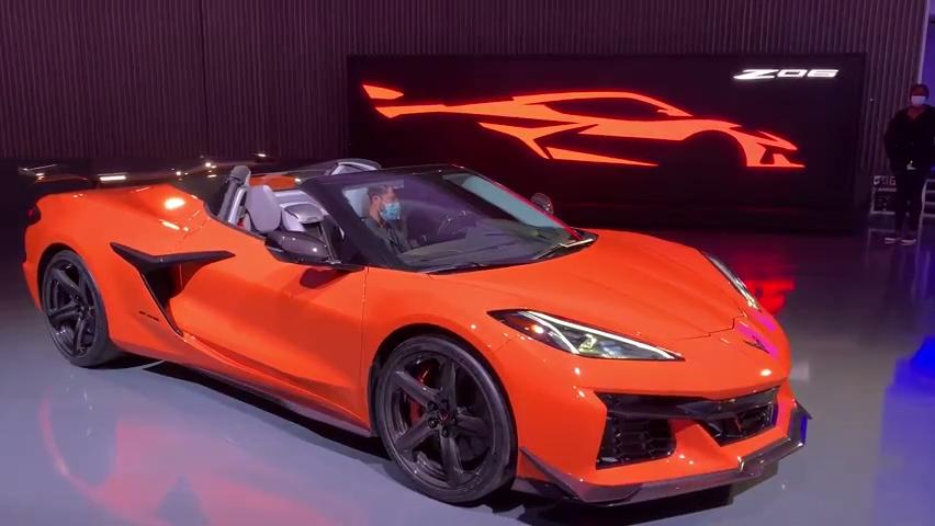 Hear the 2023 Corvette Z06 engine rev