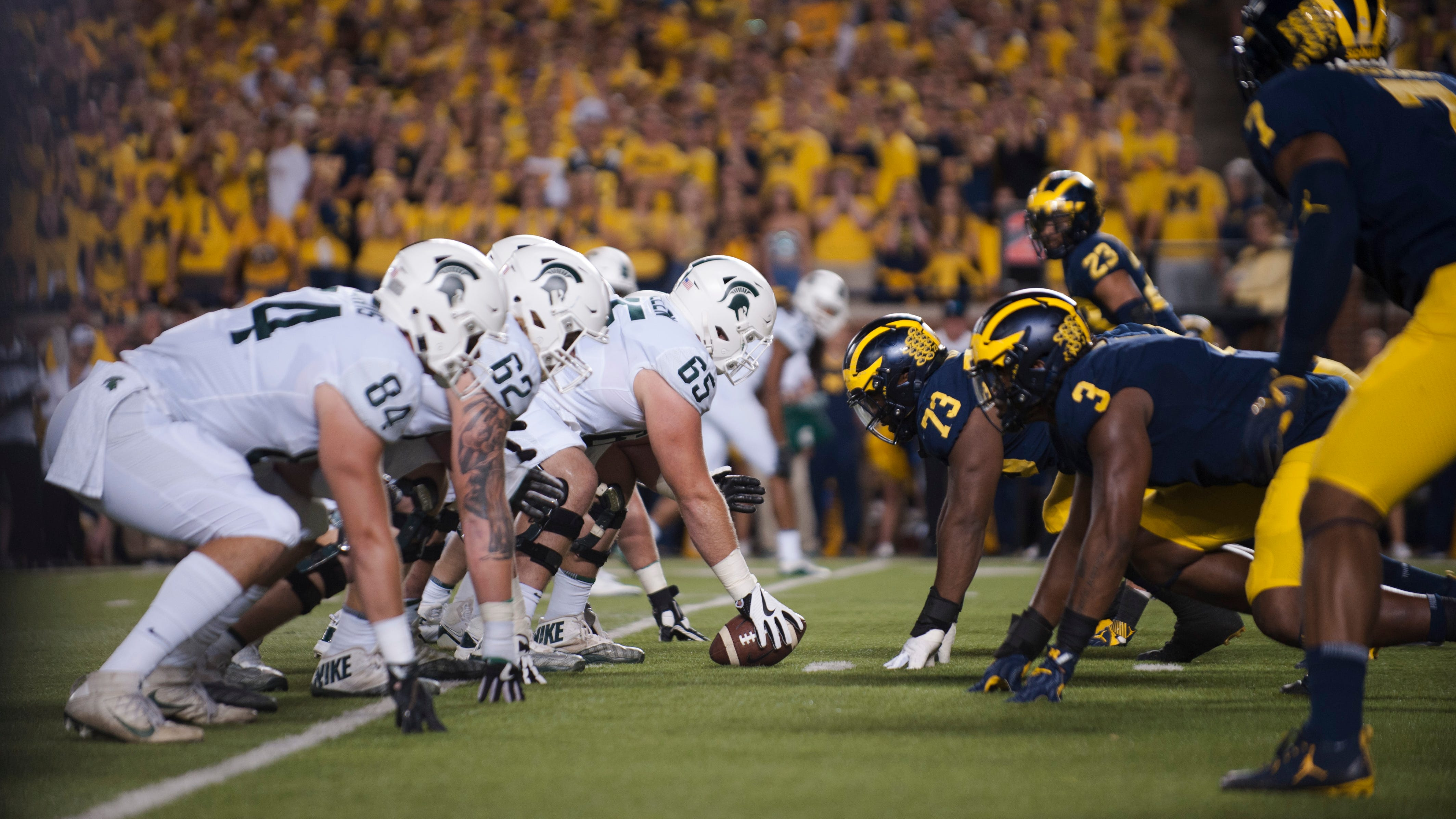 Ready, set, bet! UM-MSU will be most-wagered college game this week