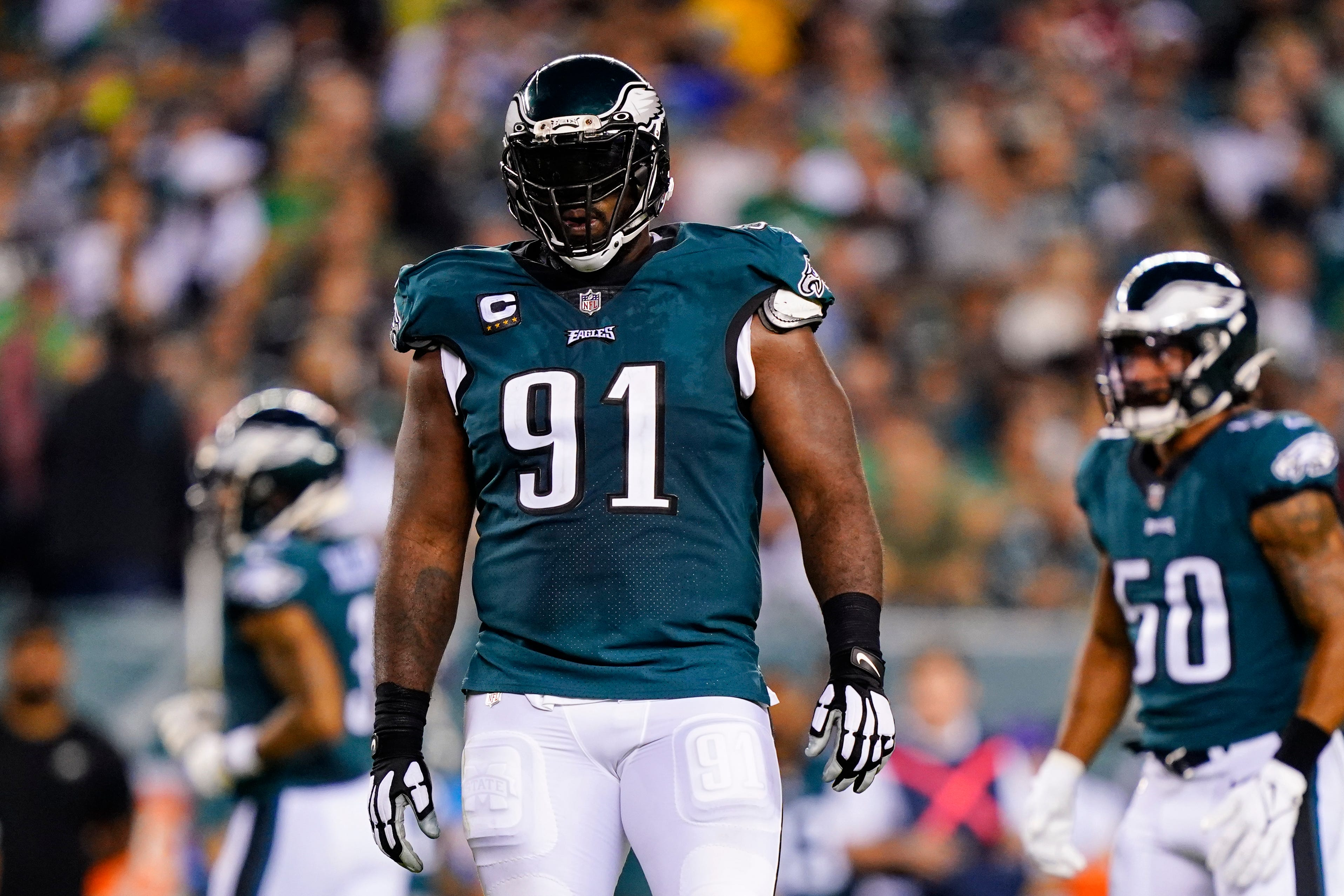 Fletcher Cox is furious at Eagles defensive coordinator; could Jonathan Gannon's job be in jeopardy?
