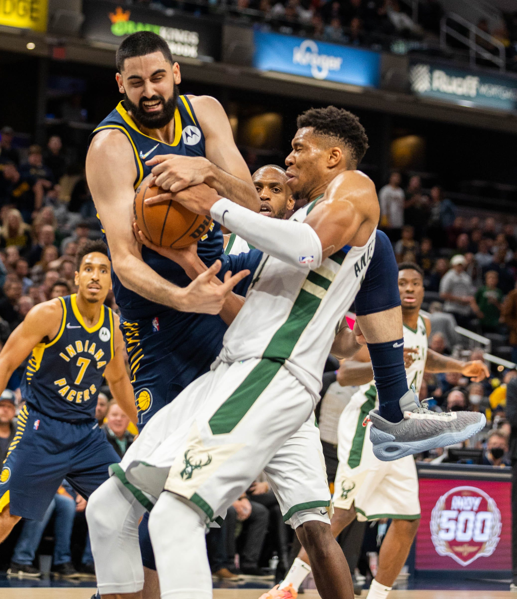 Pacers Sabonis on loss to Bucks: 'Defending champs are here. No excuses for any kind of motivation'