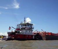 Louisiana high school on a barge will tackle coastal erosion problem