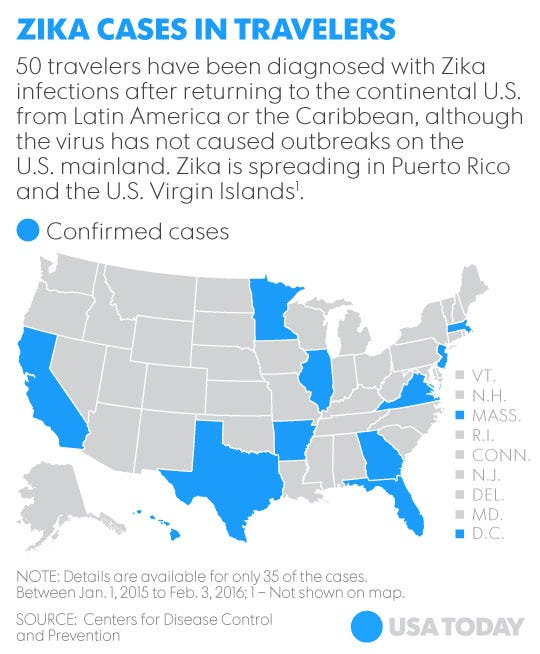 Zika confirmed in people in Indiana and Ohio, among other states on map of bvi islands, map of us and caribbean, map of canada, map of eastern caribbean, map of bermuda, virginia islands, map of virgin islands, map of paraguay, map of africa, map of atlantic islands, map of bahamas, map of jamaica, map of red sea, map of central america, map of north america, map of the caribbean, map of turks and caicos, map of puerto rico, map of aruba, map of canary islands,