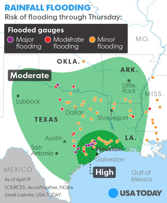 Houston copes with deadly, historic flooding