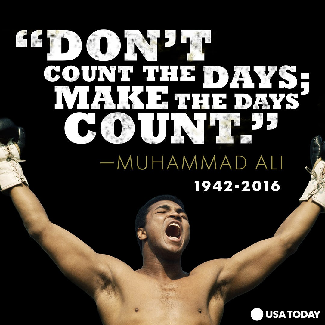 Most Famous Quotes In History 30 Of Muhammad Ali's Best Quotes