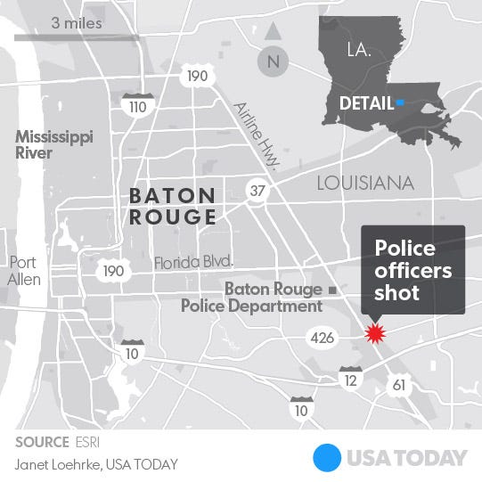 Baton Rouge police shooting: What we know