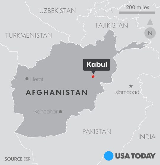 At least 60 dead, 200 wounded in ISIS attack in Kabul / Graphics
