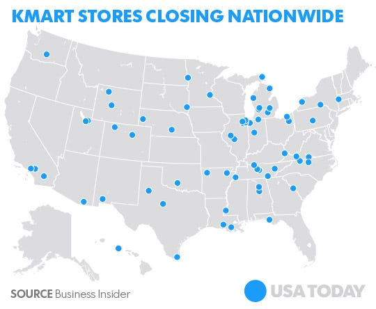 Here's where the 64 Kmart stores are closing on kmart locations new york, meijer locations map, kmart cafe menu, walmart locations map, kmart restaurant, bank of america locations map, kmart contact information, kmart products, kmart sale flyer, kmart locations in az, kmart hours, kmart floor plan, kmart employment, kmart locations in texas,