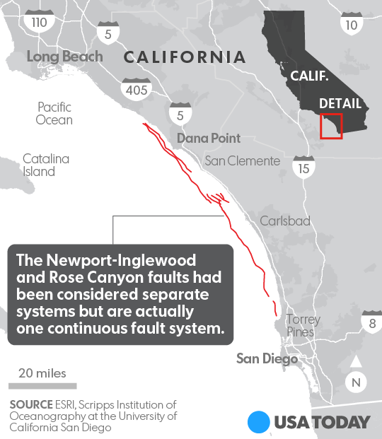 New fault line identified in California, still overdue for ...