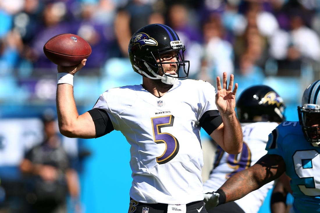 Baltimore Ravens quarterback Joe Flacco was a full participant in practice  on Friday but still might not be back on the field . 35c511eb6