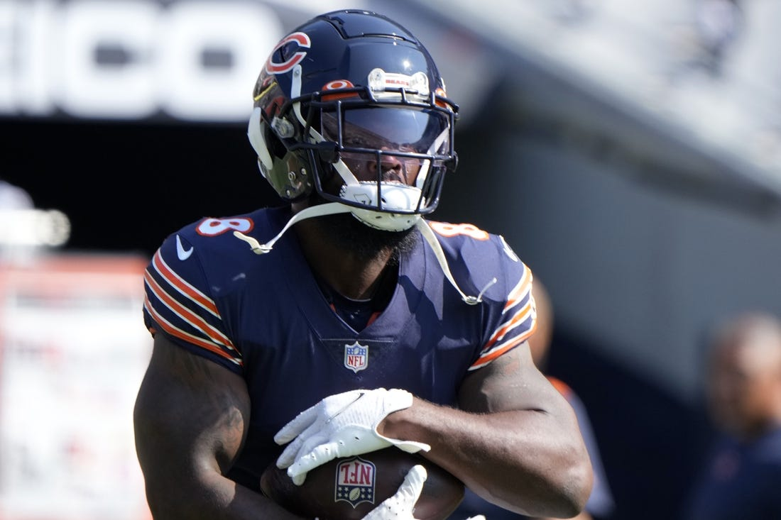 Unvaccinated Bears RB Damien Williams  COVID  remains out